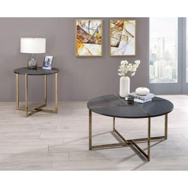 Moshe Modern Round Coffee Table