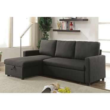 Mulberry Sectional Sleeper With Storage,Mulberry Sectional With Pullout Sleeper