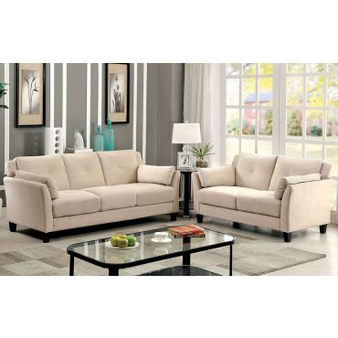 Myra Beige Living Room Furniture