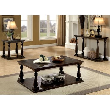 Nast Rustic Dark Walnut Coffee Table