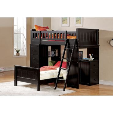 Nebo Loft Bed With Workstation