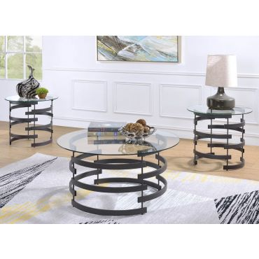 Nestor Round Coffee Table Set