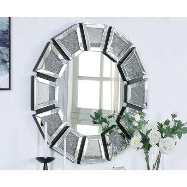 Noris Wall Mirror With Crystals