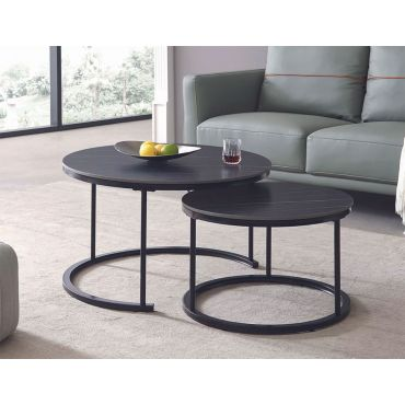 Norman Coffee Table With Nesting Table