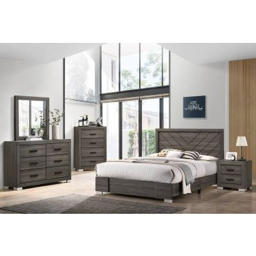 Norwood Rustic Grey Bedroom Furniture