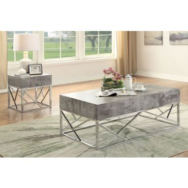 Odin Concrete Look Top Coffee Table