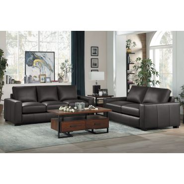 Okes Genuine Leather Living Room Furniture