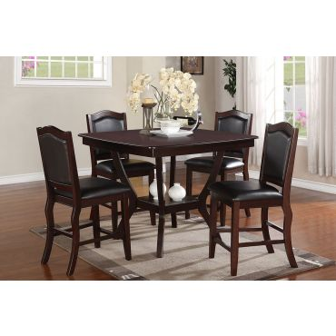 Ophelia Modern Pub Table Set