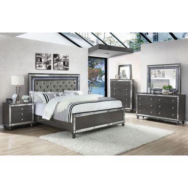 Orren Modern Bed With LED Lights