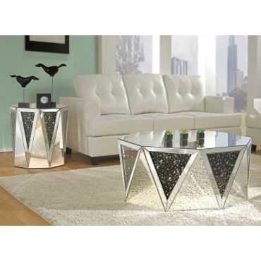 Otto Mirrored Coffee Table,Otto End Table,Otto Coffee Table