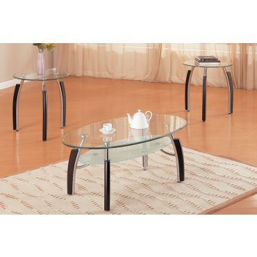 P 3077 Modern Coffee Table Set