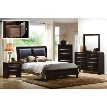 P 9153 Contemporary Style Bedroom Set