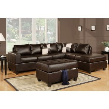 Belmont Sectional With Storage Ottoman,Belmont Sectional Oposite Side