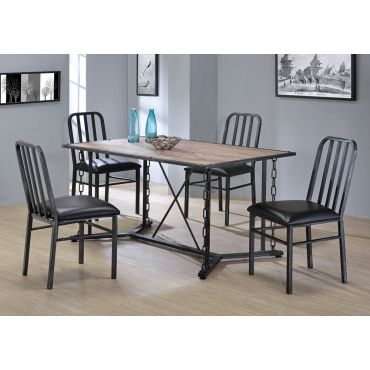 Pablo Industrial Style Dining Table Set