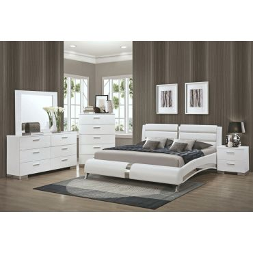 Palermo Modern Platform Bed Collection