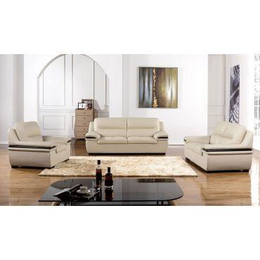 Panda Genuine Leather Sofa