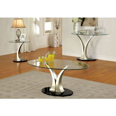 Patin Modern Oval Coffee Table