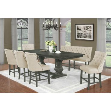 Paton Counter Height Formal Dining Table Set