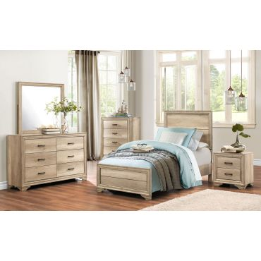 Pemton Youth Furniture Rustic Natural Finish