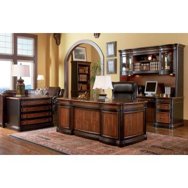 Pergola Double Pedestal Executive Desk