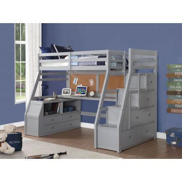 Perris Loft Bed With Storage