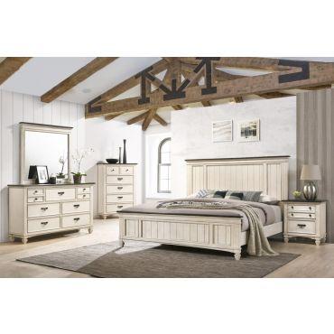 Pharsalia Panel Headboard Bed