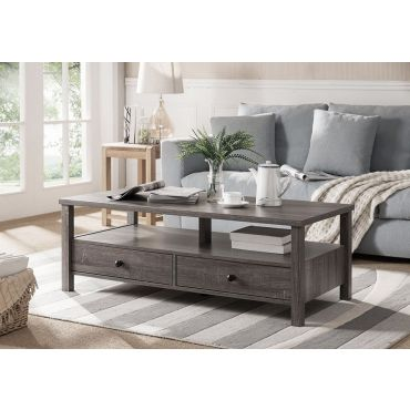 Pierce Contemporary Style Coffee Table