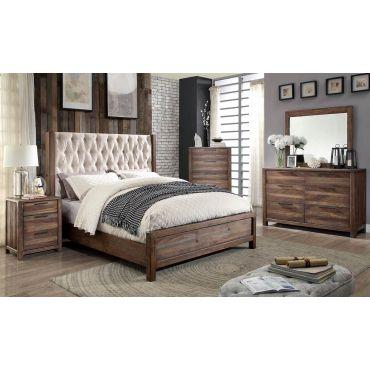 Preston Natural Rustic Bedroom Furniture