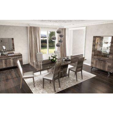 Primrose Italian Modern Dining Table Set