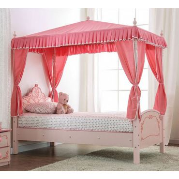 Princess Canopy Twin Size Bed