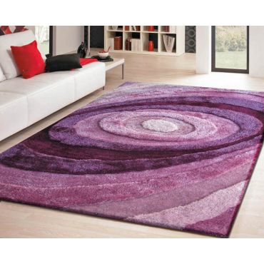 Soft Shag Area Rug 105 Purple
