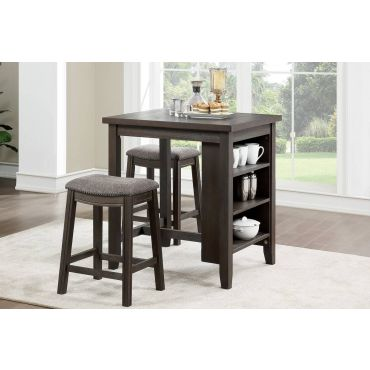 Ramon Counter Table With Stools