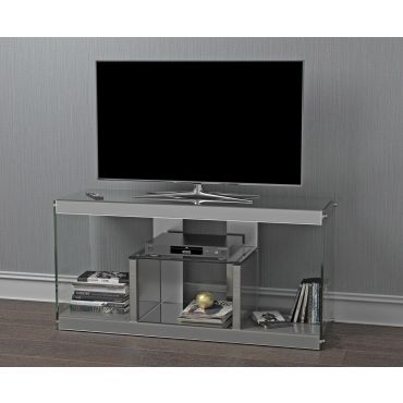 Ramsdell Mirrored Modern TV Stand