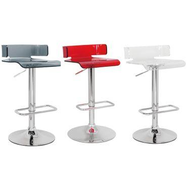 Rania Modern Acrylic Bar Stool