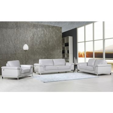 Richard Italian Leather Modern Sofa