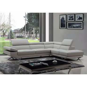 Rigatto Eco Leather Modern Sectional
