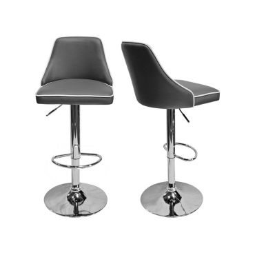 Riley Modern Leather Barstool