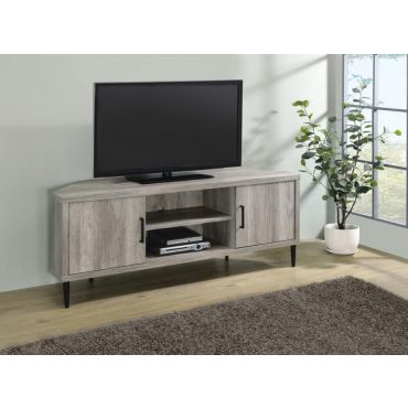 Rockwell TV Stand Grey Driftwood