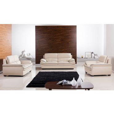 Rogelio Genuine Leather Sofa