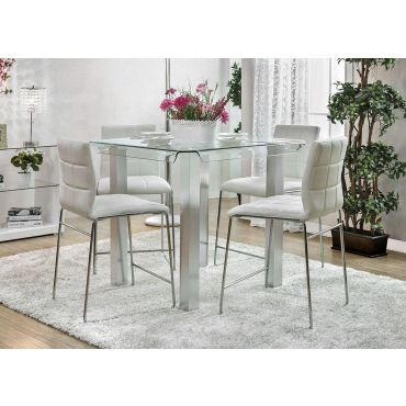 Rolien Modern Pub Table With Chairs