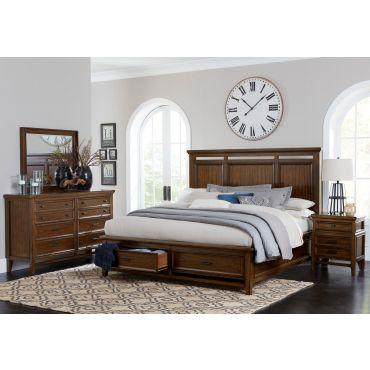 Romanoff Bedroom With Storage Drawers