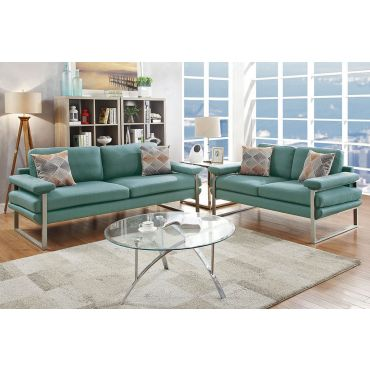 Romanus Sofa Set Laguna Fabric