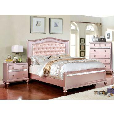 Roselie Rose Gold Youth Bedroom Furniture