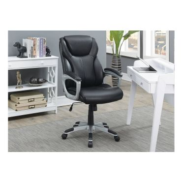 Rowan Black Office Chair