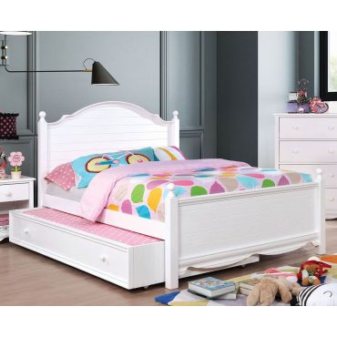 Roxanne Youth Bedroom White Finish