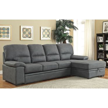 Rupard Grey Sectional Sleeper