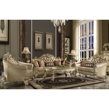 Sally Classic Leather Living Room Furniture