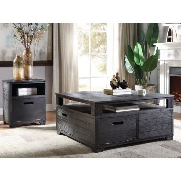 Sarita Square Storage Coffee Table