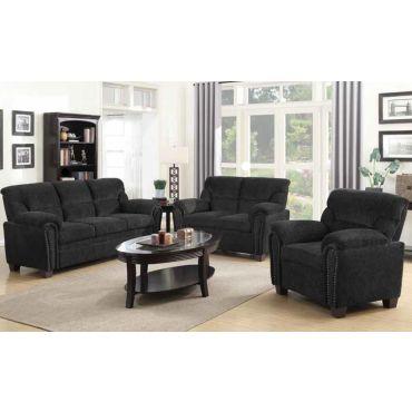 Sarum Chenille Fabric Sofa