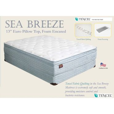 Sea Breeze Euro Pillow Top Mattress